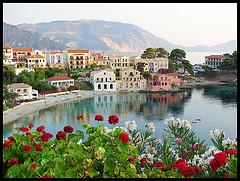Kreikka Kefalonia source:http://www.flickr.com/photos/fanintoflames/2680599774/