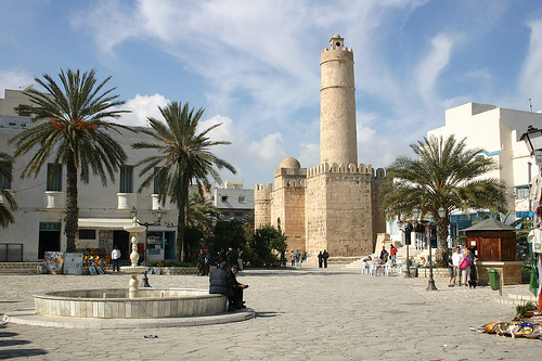 Sousse Tunisia Afrikka source:http://www.flickr.com/photos/hisgett/239401090/