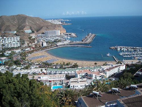 Puerto Rico Gran Canaria Espanja matkat source: http://www.flickr.com/photos/mattimattila/2607229559/