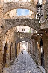 Rodoksen kaupunki Kreikka matkat source: http://www.flickr.com/photos/davidden/84258488/
