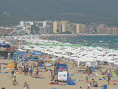 Sunny Beach Bulgaria matkat source: http://www.flickr.com/photos/phototouring/1557605901/